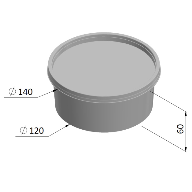 520ml Round Container SP Series